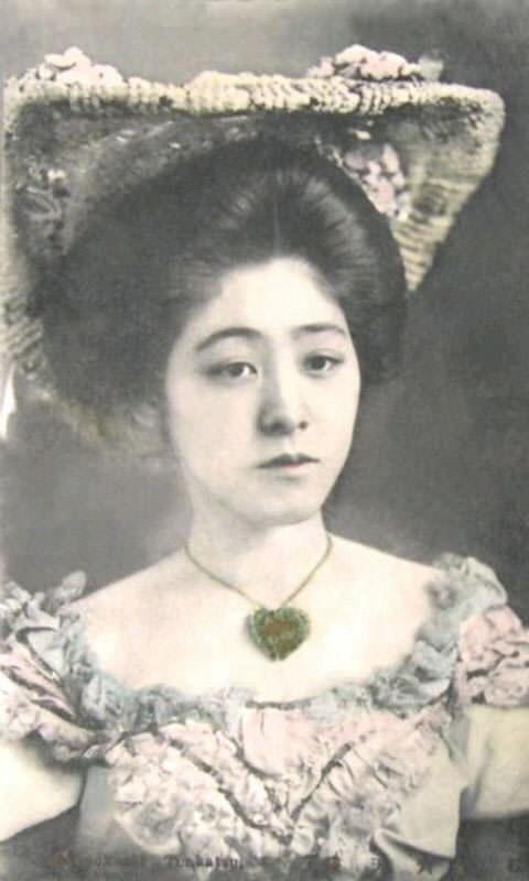 松旭斎天勝(24歳のころ)